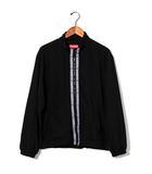 シュプリーム SUPREME 2018SS SUPREME シュプリーム Classic Logo Taping Jacket クラシックロゴ テープ ジャケット S Black 黒/●