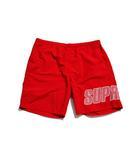シュプリーム SUPREME 未使用品 2019SS SUPREME シュプリーム Logo Applique Water Short ウォーターショーツ ショートパンツ L Red 赤/●