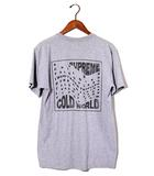 シュプリーム SUPREME 2016SS SUPREME シュプリーム Cold World Tee コールド ワールド Tシャツ L Grey/●