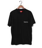 シュプリーム SUPREME 2019SS SUPREME シュプリーム Mesh Stripe Pocket Tee メッシュストライプ ポケット Tシャツ M Black 黒/●
