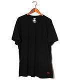 シュプリーム SUPREME Supreme × Hanes シュプリーム ヘインズ Tagless tee 半袖 クルーネックTシャツ L BLACK ブラック 春夏 /◆