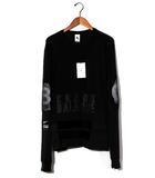 ナイキ NIKE 未使用品 NIKE × UNDERCOVER ナイキ アンダーカバー BV7133-010 LONG SLEEVE TOP 長袖 Tシャツ XL BLACK 黒/●