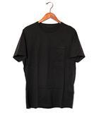 プラダ PRADA PRADA プラダ クルーネック ポケット 半袖Tシャツ L BLACK ブラック UJN006 春夏 /◆