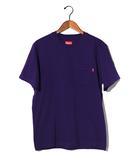 シュプリーム SUPREME 未使用品 2019SS SUPREME シュプリーム S/S Pocket Tee ポケット Tシャツ S Heather Dark Purple/●