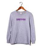 シュプリーム SUPREME 2019SS SUPREME シュプリーム The Real Shit L/S Tee 長袖 ロンTシャツ S Heather Grey 灰/●