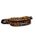シュプリーム SUPREME 2017AW SUPREME シュプリーム Leopard Fleece Waist Bag レオパード フリース ウエストバッグ Yellow/●