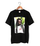 シュプリーム SUPREME 未使用品 2019SS SUPREME シュプリーム Buju Banton Tee ブジュ・バントン フォト プリント Tシャツ M Black 黒/●