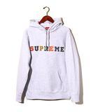 シュプリーム SUPREME 未使用品 2019AW SUPREME シュプリーム The Most Hooded Sweatshirt プルオーバー ロゴ パーカー Medium Ash Grey 灰/●