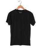 ナンバーナイン NUMBER (N)INE NUMBER (N)INE ナンバーナイン コットン 半袖 クルーネック Tシャツ L ブラック 春夏 /◆