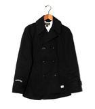 セブンティーフォー SEVENTY FOUR SEVENTY FOUR セブンティーフォー Pコート ジャケット S BLACK ブラック 秋冬 /◆