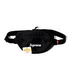 シュプリーム SUPREME 未使用品 2018AW SUPREME シュプリーム Waist Bag 2 ウエストバッグ Free Black 黒 Box Logo/●