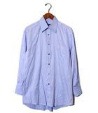 グッチ GUCCI GUCCI グッチ ワイドカラー 長袖シャツ ワイシャツ 39 BLUE ブルー /◆