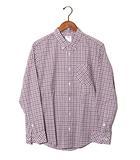 ビズビム VISVIM 未使用品 visvim ビズビム BECHER B.D. L/S オックスフォード ボタンダウン チェックシャツ 1 RED CHECK/●
