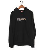 シュプリーム SUPREME 2018SS SUPREME シュプリーム Gonz Logo Hooded Sweatshirt ゴンズ ロゴ プルオーバー パーカー Medium Black 黒/●