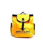 ブライトリング BREITLING 未使用品 BREITLING ブライトリング MERCHANDISING MATERIAL ノベルティ バックパック リュック イエロー/◆