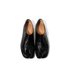 メゾンマルジェラ Maison Margiela 2018AW Maison Margiela メゾン マルジェラ TABI BABOUCHE 足袋バブーシュ レザーシューズ 42 BLACK 黒/●