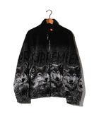 シュプリーム SUPREME 未使用品 2019AW SUPREME シュプリーム Wolf Fleece Jacket ウルフ フリース ジャケット L Black 黒/●