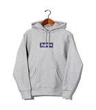 シュプリーム SUPREME 未使用品 2019AW SUPREME シュプリーム Bandana Box Logo Hooded Sweatshirt バンダナ ボックスロゴ フーディ パーカー S Heather Grey/●