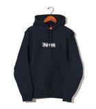 シュプリーム SUPREME 未使用品 2019AW SUPREME シュプリーム Bandana Box Logo Hooded Sweatshirt バンダナ ボックスロゴ フーディ パーカー M Navy/●