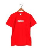 シュプリーム SUPREME 未使用品 2019AW SUPREME シュプリーム Bandana Box Logo Tee バンダナ ボックスロゴ Tシャツ Small Red 赤/●