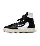 オフホワイト OFF WHITE 未使用品 2019SS OFF-WHITE c/o VIRGIL ABLOH オフホワイト Off-Court Low 3.0 Sneaker ハイトップ スニーカー 40 BLACK WHITE/●