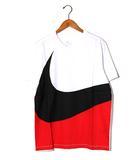 ナイキ NIKE 未使用品 NIKE ナイキ AS M NSW TEE HBR SWOOSH 1 ビッグスウォッシュ Tシャツ XL WHITE 白/●