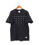 ナイキ NIKE NIKE ナイキ ジョーダン スニーカープリント 半袖ビッグTシャツ M Black 黒 /◆