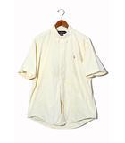 ラルフローレン RALPH LAUREN RALPH LAUREN ラルフローレン BD 半袖オックスフォードシャツ ビッグシャツ 105 Yellow 黄 /◆