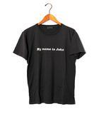 ワコマリア WACKO MARIA WACKO MARIA ワコマリア My name is joke プリント半袖Tシャツ M チャコール /◆