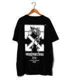 オフホワイト OFF WHITE 2019AW UNDERCOVER × OFF-WHITE C/O VIRGIL ABLOH アンダーカバー オフホワイト SKELETON DART S/S T-SHIRT Tシャツ XL 黒/●
