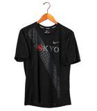 ナイキ NIKE NIKE ナイキ マイラー S/S トップ EKIDEN Tシャツ S BLACK ブラック BV0200-010 /◆