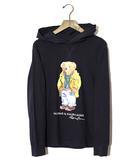 ポロ ラルフローレン POLO RALPH LAUREN POLO RALPH LAUREN ポロ ラルフローレン Polo Bear Hooded T-Shirt クマ プリント フーデッドTシャツ L NAVY ネイビー /◆