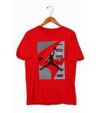 ナイキ NIKE NIKE AIR JORDN ナイキエアジョーダン プリントデザイン ジャンプマン 半袖Tシャツ XL Red 赤 /◆