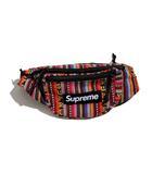 シュプリーム SUPREME 未使用品 2020SS SUPREME シュプリーム Woven Stripe Waist Bag ウーブンストライプ ウエストバッグ Multicolor/●