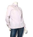 グッチ GUCCI GUCCI グッチ コットン 長袖シャツ ワイシャツ 38 ライトパープル /◆☆