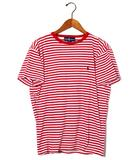 ラルフローレン RALPH LAUREN RALPH LAUREN ラルフローレン クルーネックボーダー 半袖Tシャツ S RED WHITE レッド ホワイト /◆