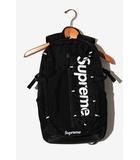 シュプリーム SUPREME 2017SS SUPREME シュプリーム 210D Cordura Ripstop Nylon Backpack バックパック リュック Black 黒/●