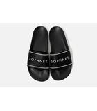 ソフネット SOPHNET. 未使用品 2016SS SOPHNET. ソフネット LOGO SANDALS ロゴサンダル シャワー 28cm BLACK 黒/●