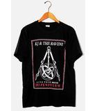 Kj and The Ravens  降谷建志1st LIVE TOUR「THE PENDULUM」ツアーTシャツ M BLACK ブラック United Athle /◆