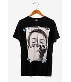 ディーゼル DIESEL DIESEL ディーゼル MORE KAOS TEE プリント 半袖Tシャツ XS Black 黒 /◆