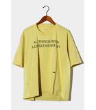 アンブッシュ AMBUSH 未使用品 2019AW AMBUSH アンブッシュ 12111784 BOXY T-SHIRT ボックスシルエット Tシャツ 3 Yellow/●