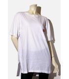 アールエヌエー RNA RNA アールエヌエー 布帛コンビシャツTシャツ M WHITE ホワイト /◆☆