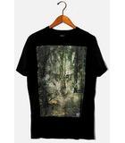 ディーゼル DIESEL DIESEL ディーゼル T-Shirt T-Ebo with Woodland Wolf Print ウッドランドウルフプリント Tシャツ S BLACK ブラック /◆