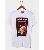 アディダスオリジナルス adidas originals 未使用品 adidas Originals アディダス オリジナルス BS3245 SST PHOTO TEE スーパースター フォト Tシャツ L WHITE 白/●