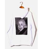 サカイ sacai 未使用品 2020AW sacai サカイ 20-0114S Einstein Hoodie アインシュタイン フーディ パーカー 2 WHITE 白/●