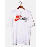 ナイキ ラボ NIKE LAB 未使用品 2020SS NIKELab × STUSSY ナイキ ラボ ステューシー M NRG Br TEE BEACH Tシャツ L DD3070-121 WHITE 白/●