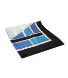 ビアッジョブルー Viaggio Blu Viaggio Blu ビアッジョブルー 総柄 シルク 大判 スカーフ 正方形 マルチカラー /◆☆
