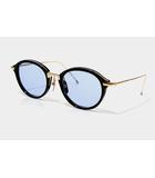 トムブラウン THOM BROWNE THOM BROWNE トムブラウン TB-011-A 49size メガネ 眼鏡 サングラス BLACK/SHINY 12K GOLD BRIDGE&TEMPLES/●