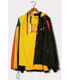 ナイキ NIKE 未使用品 2019AW NIKE × SACAI ナイキ サカイ CD6297 WMNS Double-Zip Jacket 再構築 ナイロン ジャケット XL GOLD/●