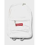 シュプリーム SUPREME 未使用品 2020AW SUPREME シュプリーム Canvas Backpack キャンバス バックパック White 白/●